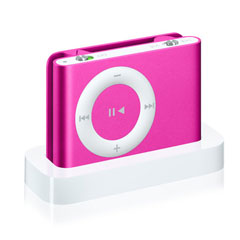 Apple iPod shuffle 2nd Generation Pink Orange Silver Green Red Blue 1GB